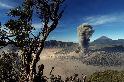 冒煙的婆羅摩火山