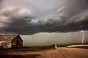 薩斯喀徹溫省的風暴雲