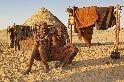 納米比亞的辛巴族女孩