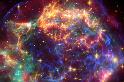 大規模超新星爆炸,釋放生命組成成分!