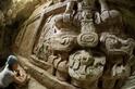 大型馬雅雕刻於瓜地馬拉出土
