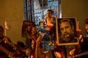 古巴國葬的送行者們