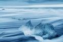 冰晶剔透:冰島黑砂灘