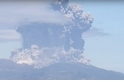 日本火山爆發影片:駭人的美