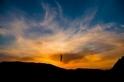漫步夕陽下