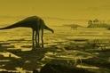 在蘇格蘭發現巨大的恐龍足跡