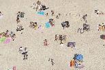 海灘日光浴