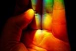 屋裡的彩虹