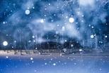 如夢似幻:青池冬夜