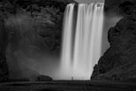 冰島:斯科加瀑布
