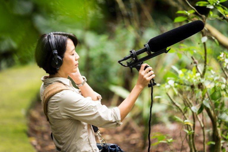 走入山裡收錄聲音,反而讓自己更清晰了。