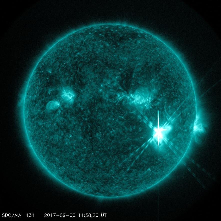 近十年最強太陽閃焰爆發影響地球!