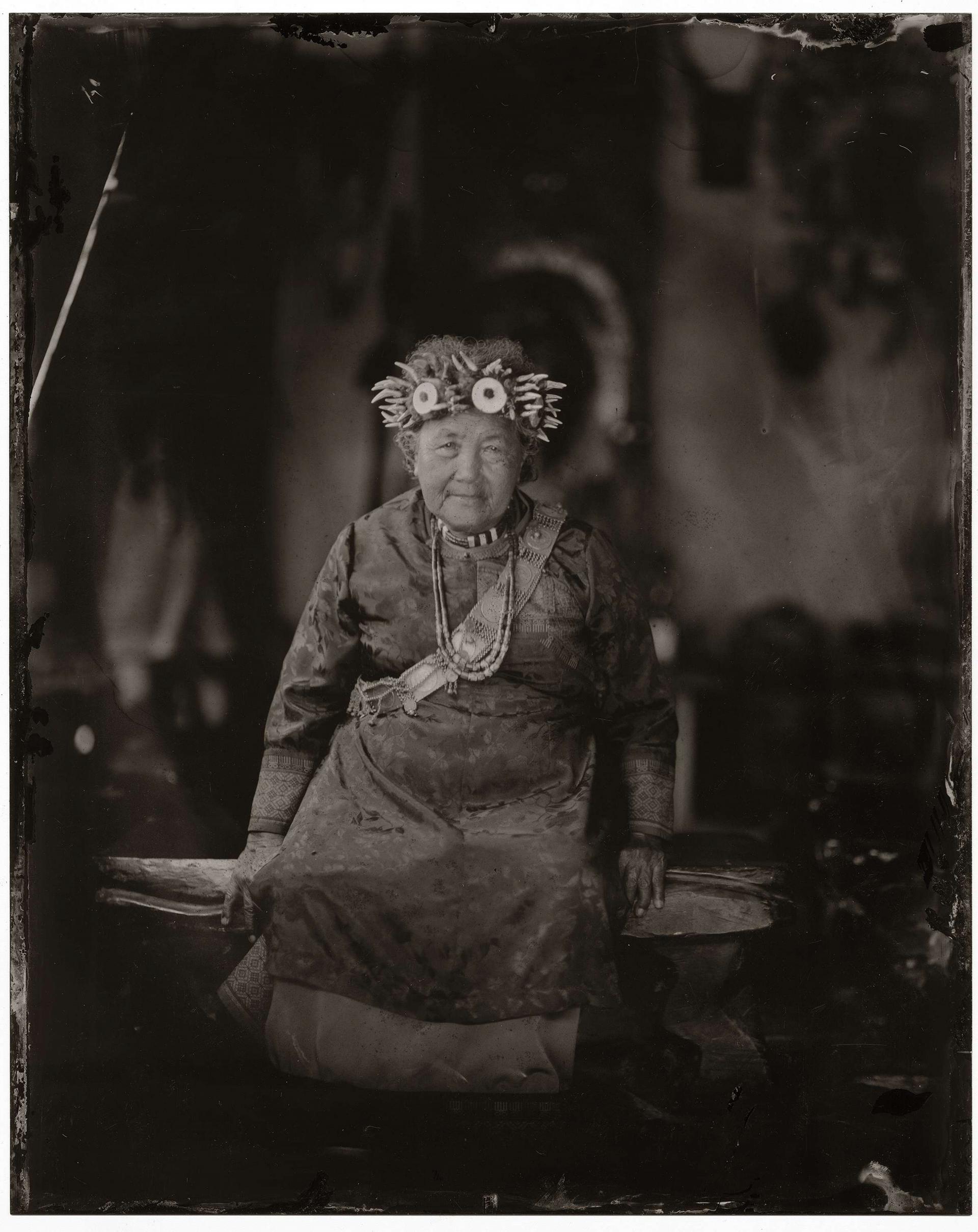 土坂部落最大家族包家的前頭目(mamazangiljan)包秀美,一向堅持傳統,帶領包家、古家與陳家三大家族進行各項祭儀。她於去年5月因病過世。攝影:何經泰