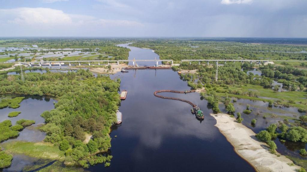 白俄羅斯境內普里皮亞季河。圖片來源:拯救波利西亞(Save Polesia)Daniel Rosengren