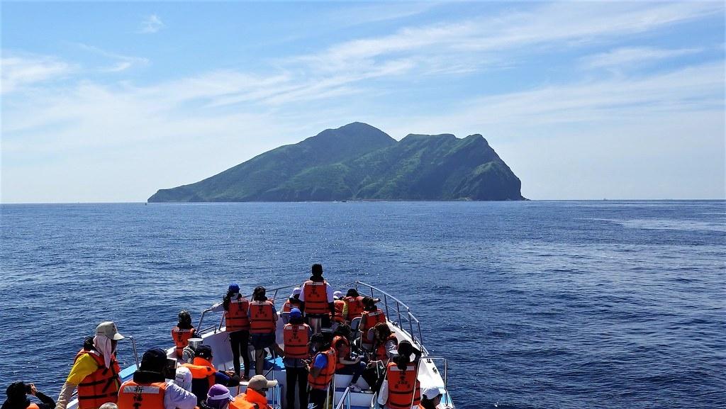 龜山島是國內知名的旅遊景點之一,多年來實施登島人數的總量管制管理良好。孫文臨攝