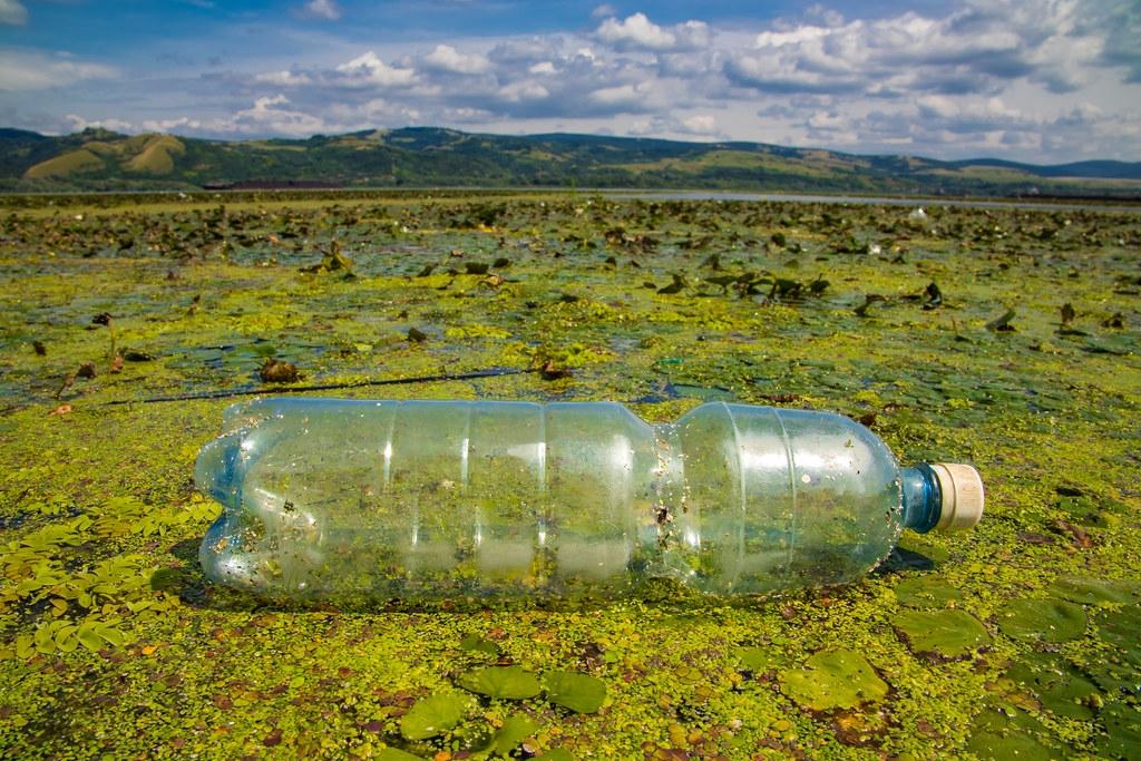 最新研究顯示,美國和英國的人均塑膠廢棄物製造量是世界大國中的前兩名。照片來源:Ivan Radic(CC BY 2.0)