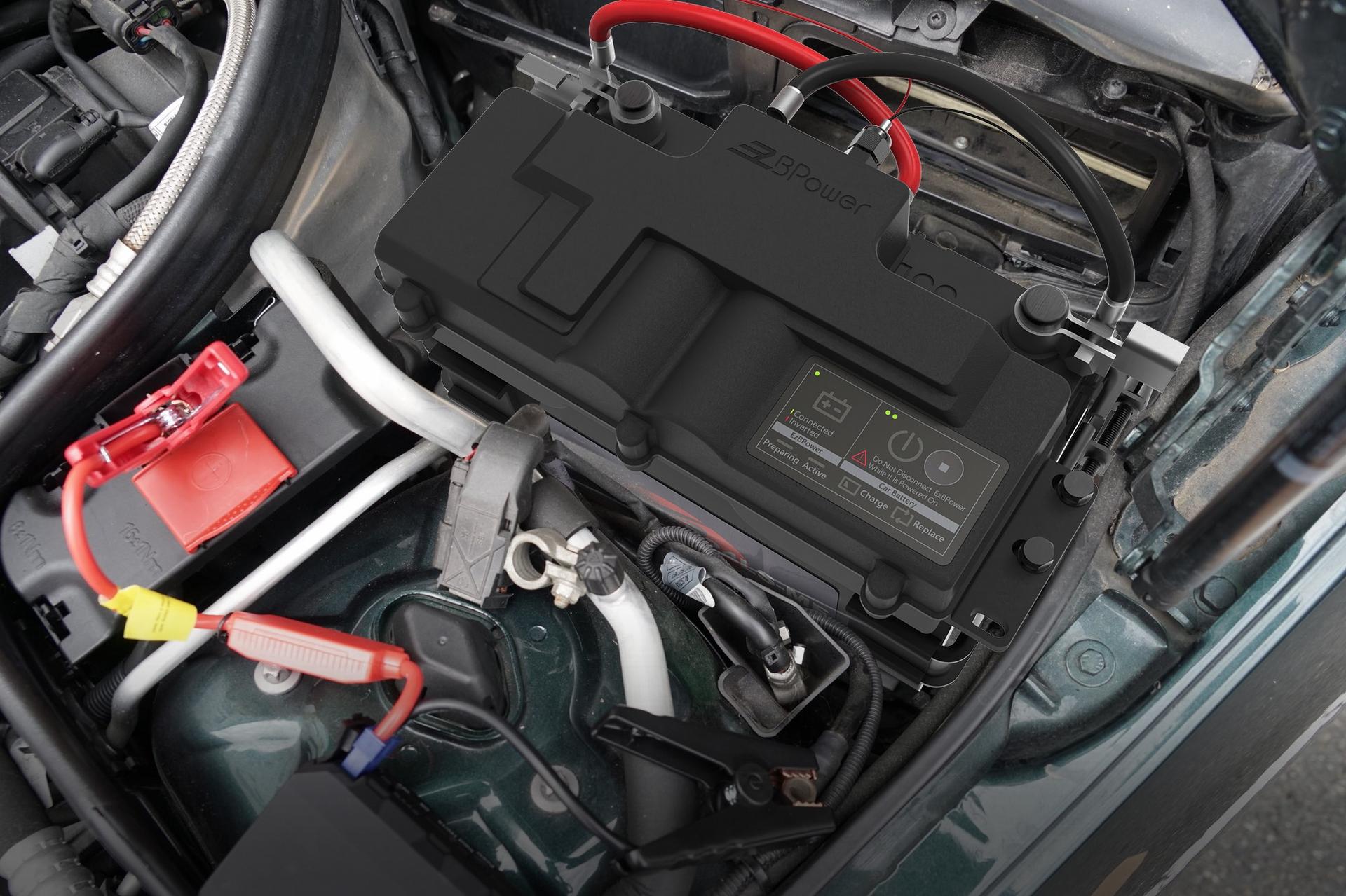 EzBPower永久電瓶系統,當汽車久置不用電量剩20%時,會有「立即充電」警示功能,預防電瓶沒電無法啟動。