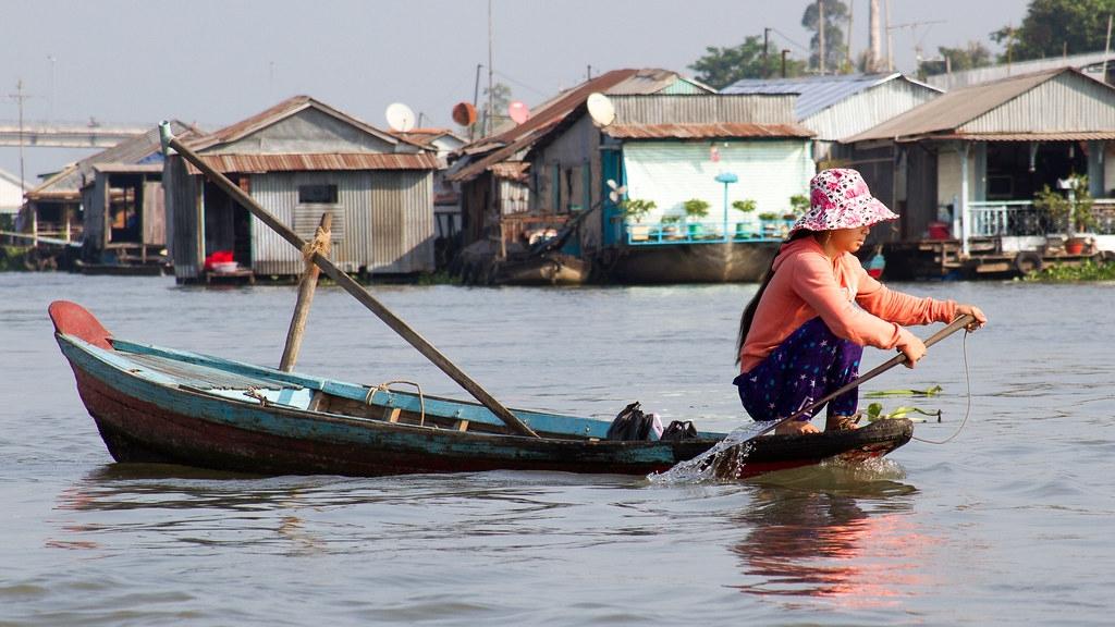 湄公河三角洲是越南的農業心臟地帶。照片來源:Adnan Yahya(CC BY-NC-ND 2.0)