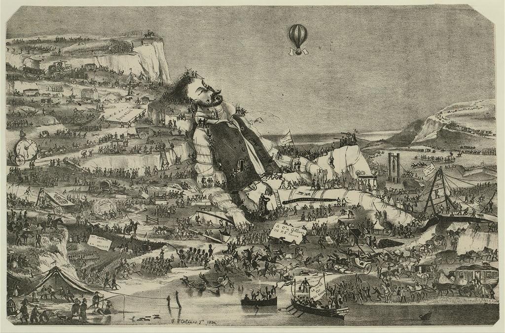大眾看過的《格理弗遊記》,往往只是第一冊的小人國。 圖│the United States Library of Congress 《格理弗遊記》原來有四冊,是愛爾蘭出生的綏夫特 (Jonathan Swift, 1667-1745) 用來諷刺人性、英國時政與權貴的作品。