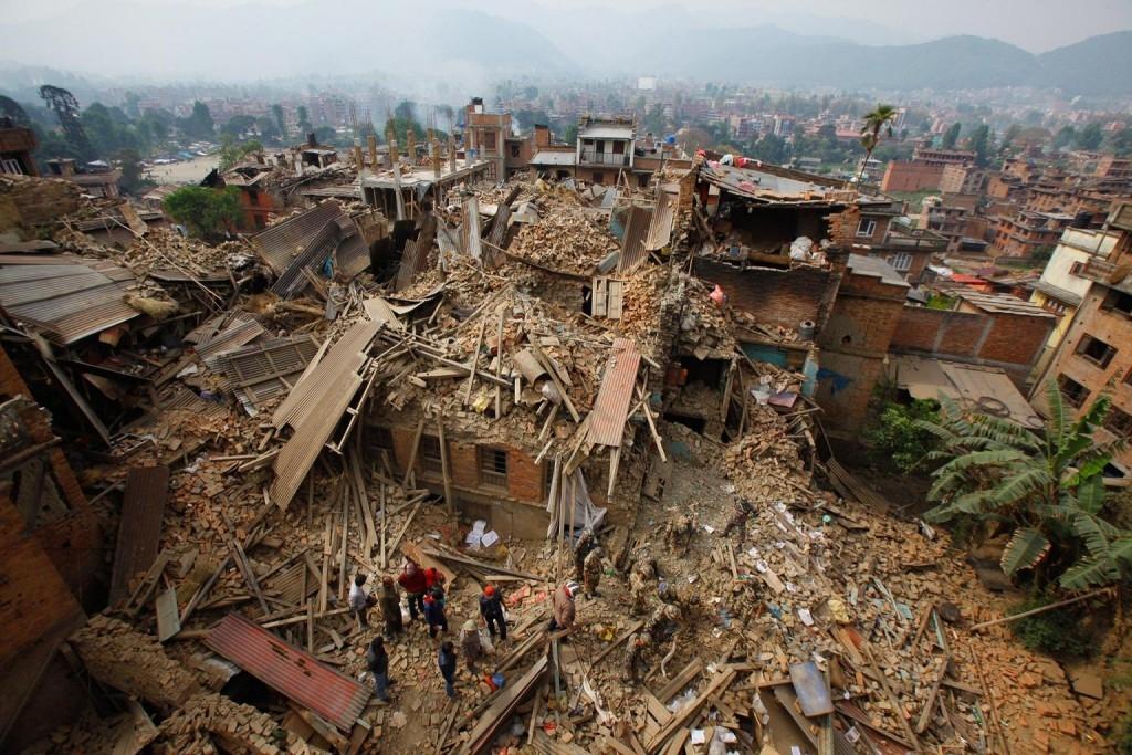 震動的大地 尼泊爾地震 國家地理雜誌中文網