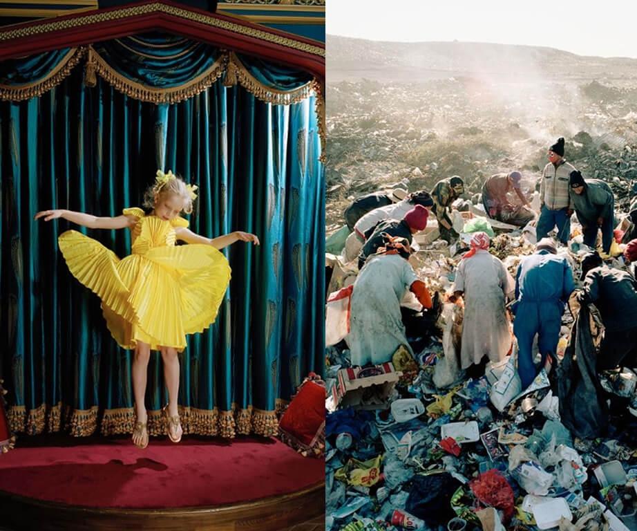 攝影師鏡頭中的貧富差距