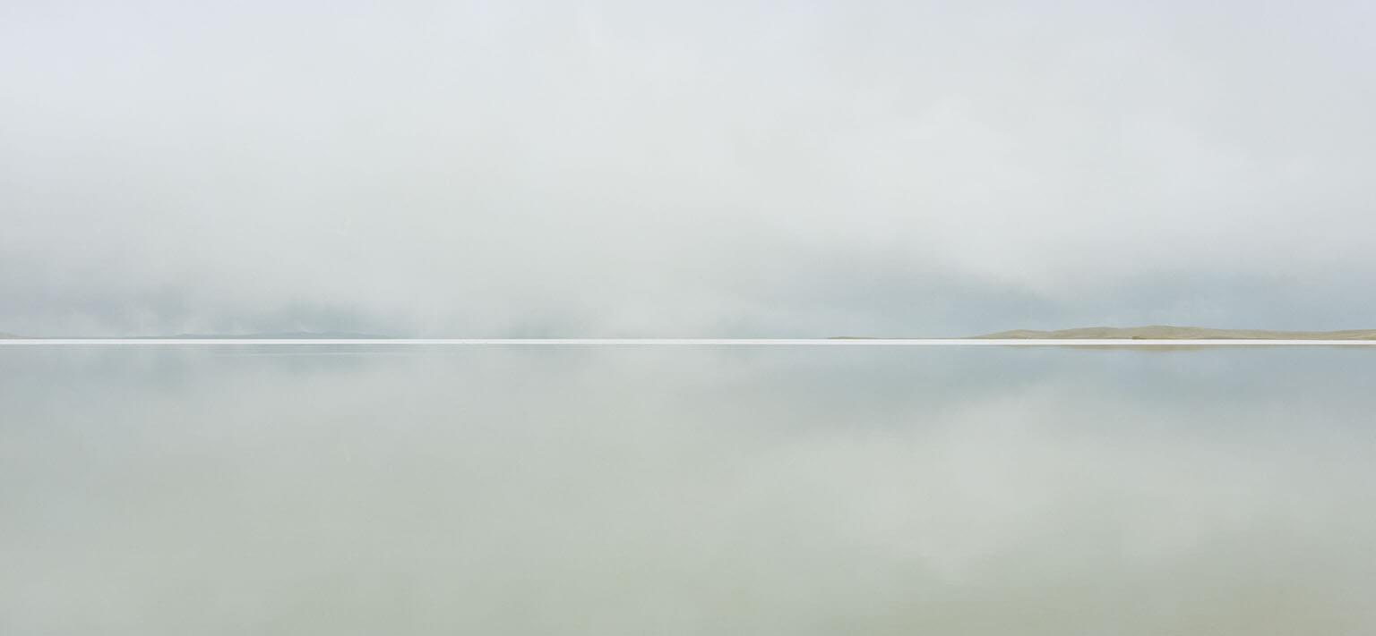 青海省官員表示,黃河流域的鄂陵湖水位上升,證實了環保行動有所成效。但科學家說,這更有可能是氣候變遷帶來的影響──包括永凍層融化,以及降雨和降雪增加。 攝影:鄭永仁 IAN TEH