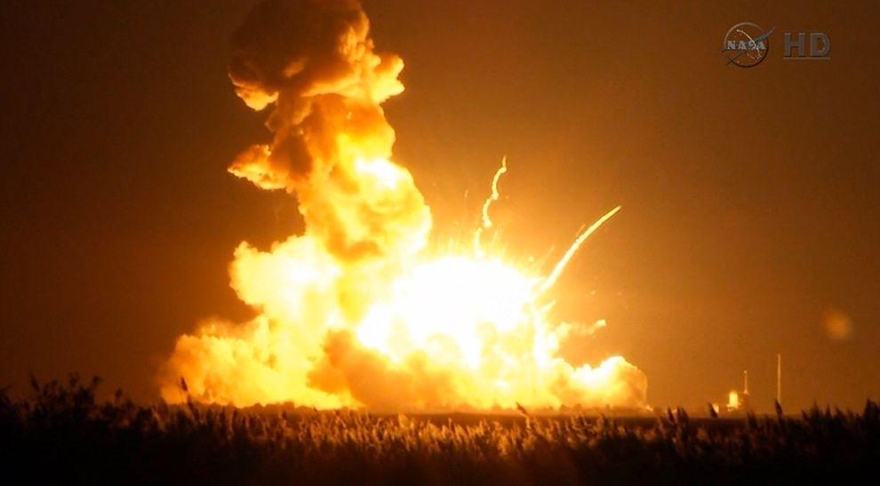 NASA火箭爆炸,ISS補給計畫受挫