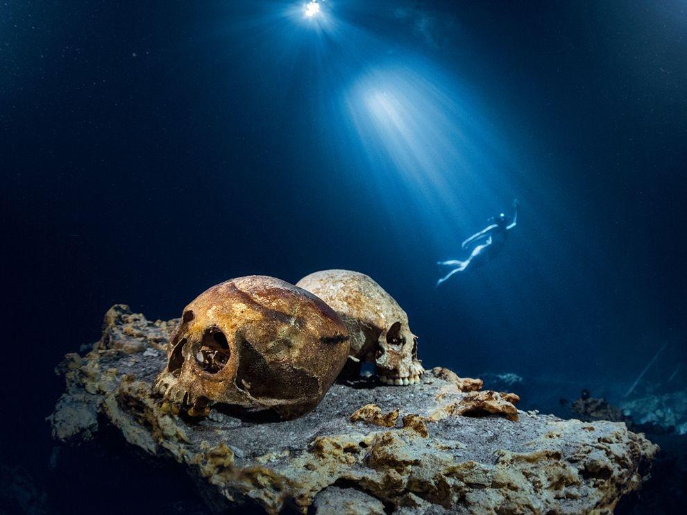 墨西哥:浮潛者
