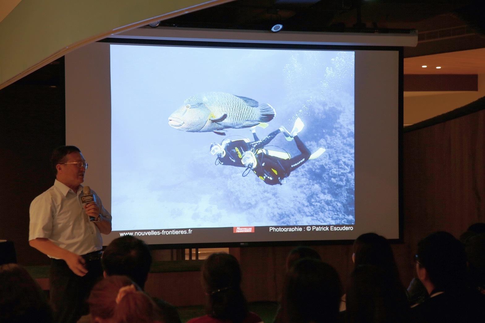 鄭明修主講:臺灣海洋明星物種保育的新視野