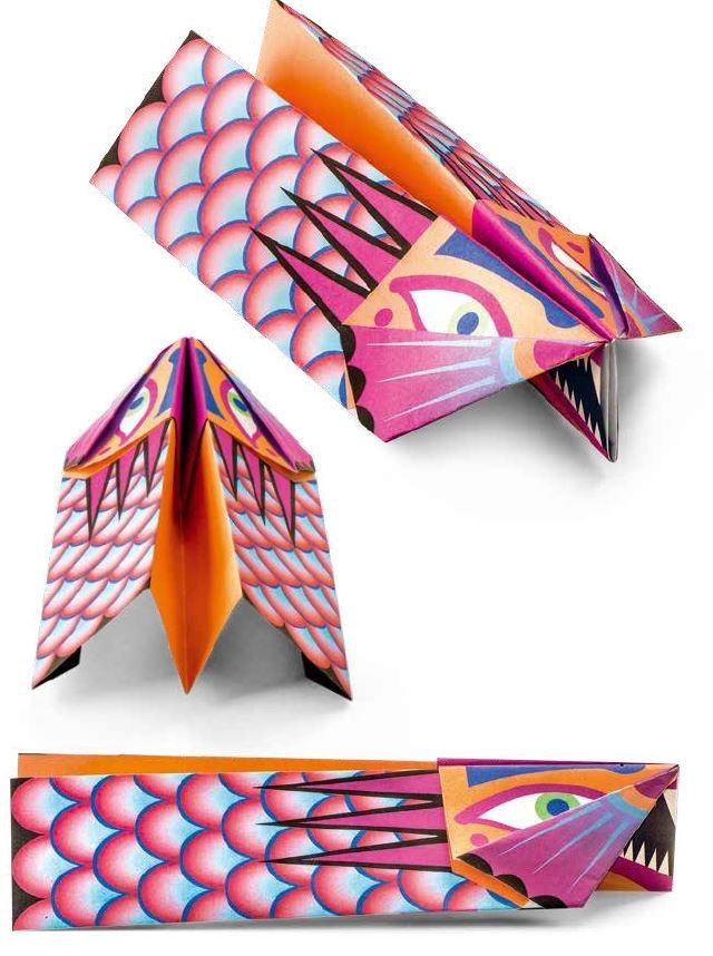 《超有型紙飛機II》褶邊龍
