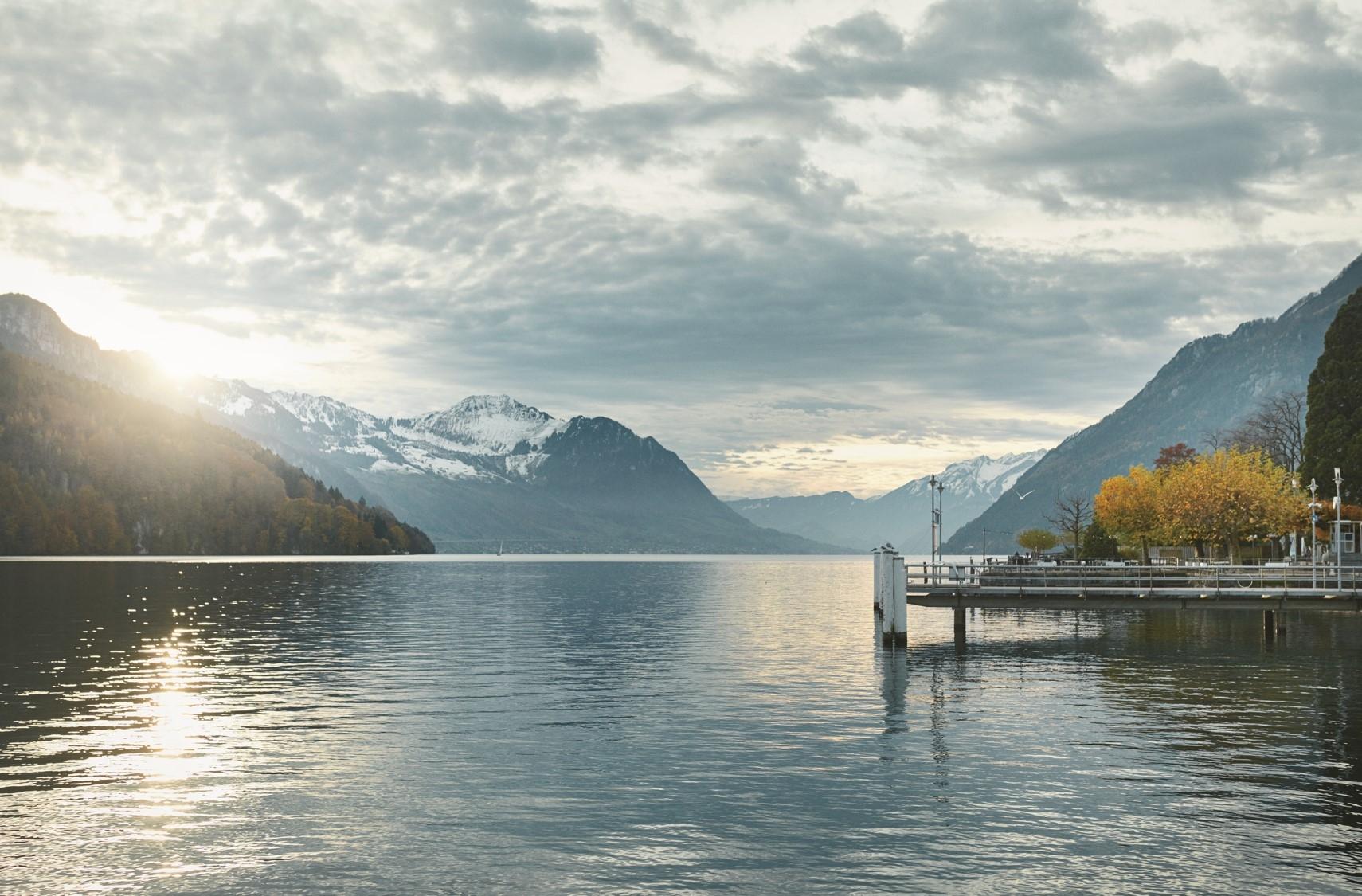 瑞士琉森湖