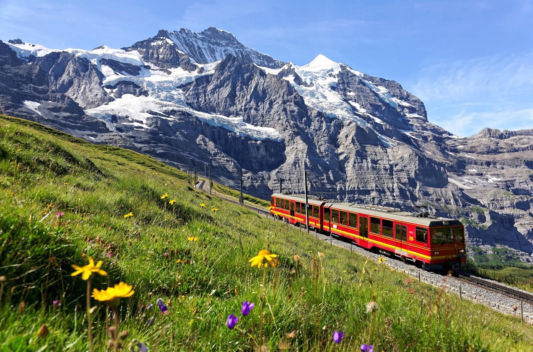 瑞士少女峰登山鐵道