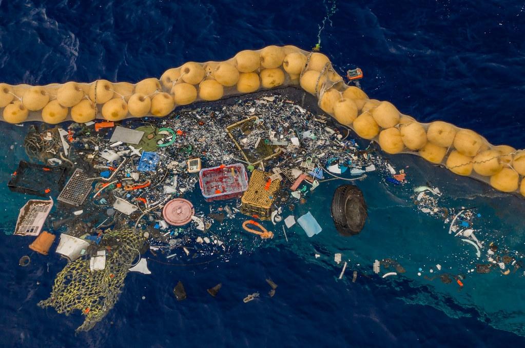 照片提供:The Ocean Cleanup公司。