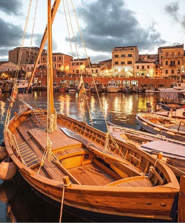 薩沙里省馬達萊納(La Maddelena)的老港在史前時代就建立了。