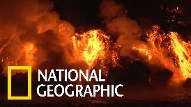 這就是所謂的火山第一排!