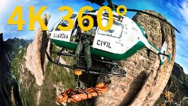4K 360° VR:西班牙山難救援