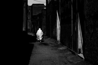 摩洛哥的老婦人