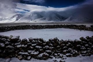 藏北高原的冬天