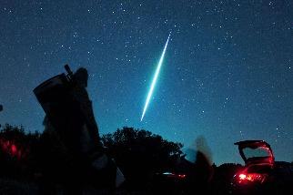 火球般的流星