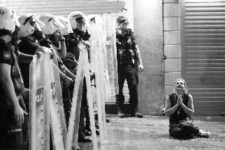 伊斯坦堡的抗議者