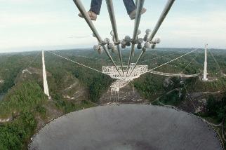 永別了,波多黎各阿雷西博電波望遠鏡即將拆除!