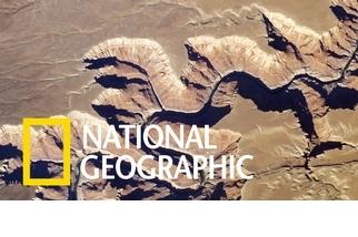 從太空鳥瞰美國大峽谷