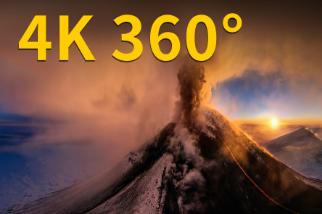 4K 360° VR:克柳切夫火山