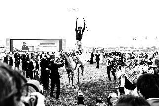 攝影師觀點:新冠肺炎疫情下的沙烏地杯賽馬大會