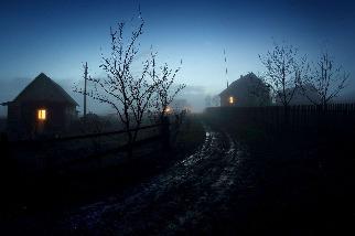 充滿神祕感的傍晚