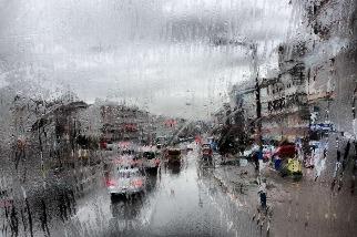 雨天的街頭