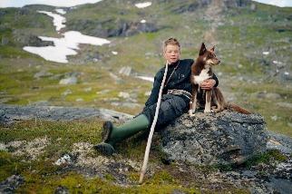 薩米男孩和他的狗