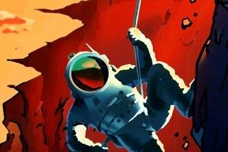 復古海報描繪火星計畫未來