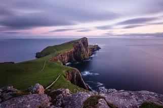 蘇格蘭暮色:內斯特岬燈塔