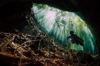 水下之美:墨西哥天然井